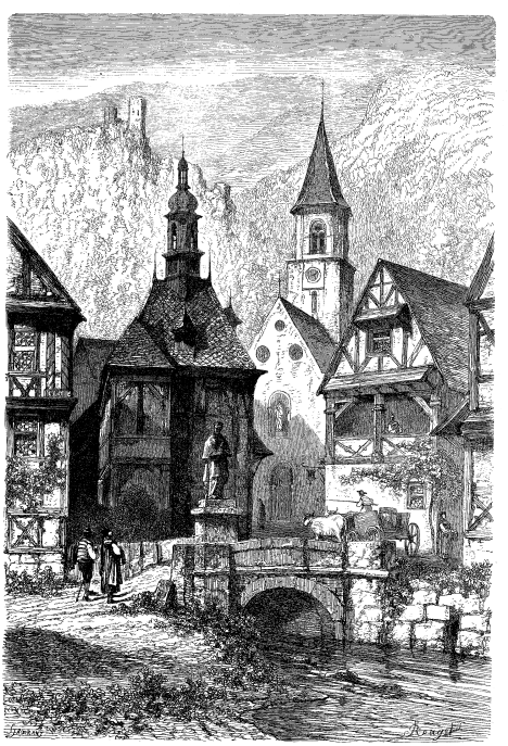 Woodcut from Doré. Purely illustrative